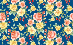 шиповник, бутоны, розы