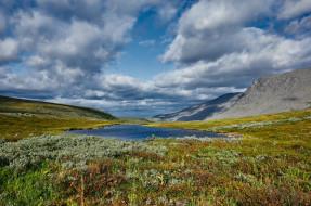 югыд- ва, природа, пейзажи, облака, небо, озеро, коми, югыд-, ва