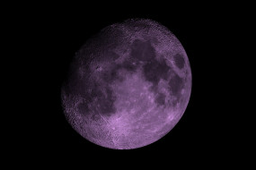 космос, луна, планета