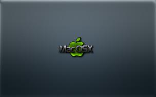 компьютеры, mac os, логотип, фон