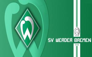 спорт, эмблемы клубов, sv, werder, bremen