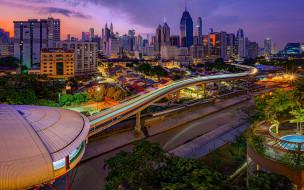 города, куала-лумпур , малайзия, куала-лумпур