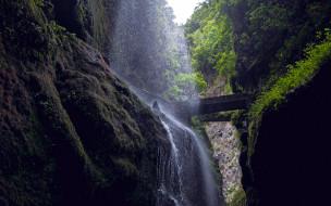вода, поток, водопад