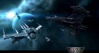планета, корабли, космос