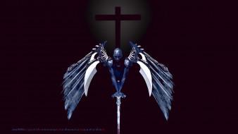 calendar, оружие, крест, 2019, крылья, мужчина