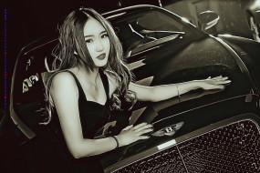 машина, девушка, азиатка, автомобиль, 2019, calendar, женщина, модель