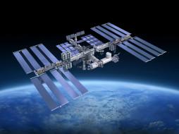 космос, космические корабли,  космические станции, мкс