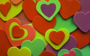 векторная графика, сердечки , hearts, фон, сердечки