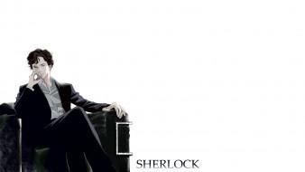 sherlock bbc, рисованное, кино, sherlock, bbc