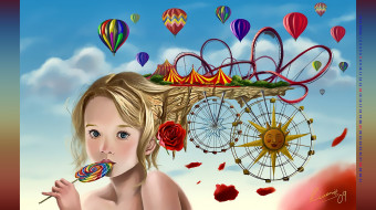 леденец, девочка, конфета, 2019, шар, шатер, calendar