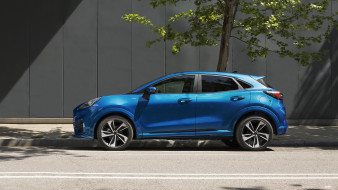 форд, город, улица, профиль, 2020 ford puma