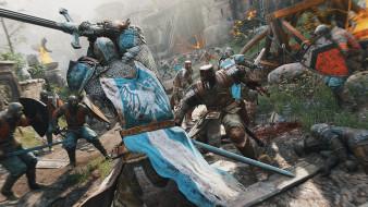 рыцари, крепость, бой