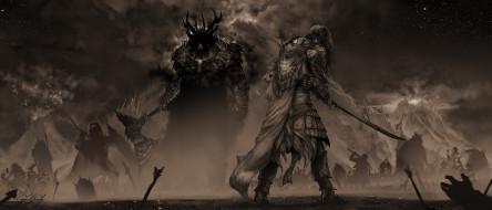 skyrace, Feanor, Gothmog, рыцарь, монстр