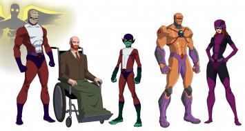рисованное, комиксы, doom, patrol