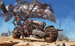 фэнтези, роботы,  киборги,  механизмы, by, ignacio, bazan-lazcano