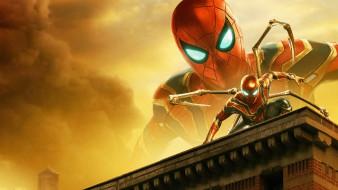 spider-man,  far from home , 2019, кино фильмы,  far from home, фильмы, постер, боевик, фантастика, человек, паук, вдали, от, дома