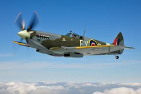 авиация, боевые самолёты, supermarine, spitfire