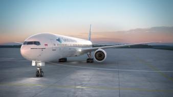 авиация, пассажирские самолёты, самолет