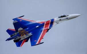 авиация, боевые самолёты, su-27