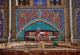 архитектура, цветы, иран, история