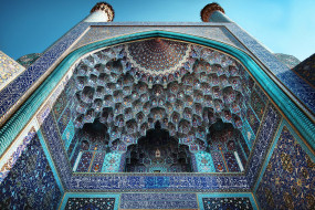города, - мечети,  медресе, ближний, восток, архитектура, иран