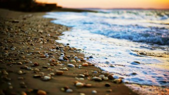 море, камни, песок, берег