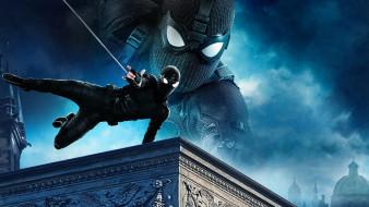 spider-man,  far from home , 2019, кино фильмы,  far from home, фантастика, боевик, человек, паук, вдали, от, дома, фильмы