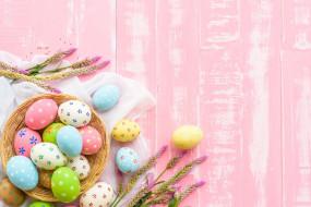 праздничные, пасха, яйца, фон