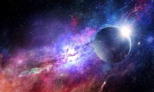 космос, арт, планета