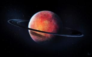 космос, сатурн, планета, вселенная, галактика, звезды