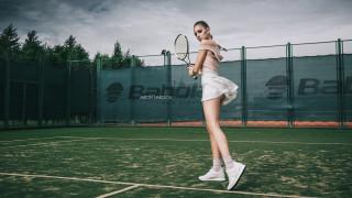 корт, ракетка, теннис