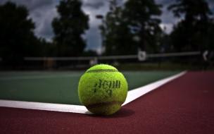 мяч, корт