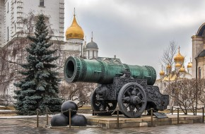 Москва, пушка, Царь, Кремль, Россия