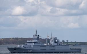 nordrhein-westfalen,  f223, корабли, фрегаты,  корветы, немецкий, военно-морской, флот, вмс, германии, военный, корабль, северный, рейн-вестфалия, фрегат, типа, баден-вюртемберг