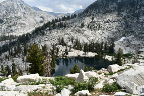 США, озеро, скалы, камни, горы