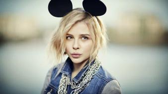 уши, цепи, блондинка, актриса