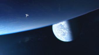 космос, космические корабли,  космические станции, звезды, галактика, вселенная, планета