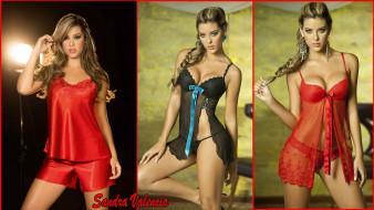Sandra Valencia, бельё, модель