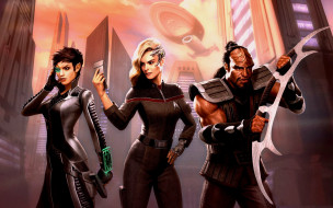 персонажи, star trek online, симулятор, pc, xbox one, 2019, ps4, шутер от третьего лица