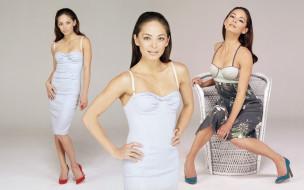 платье, кресло, актриса