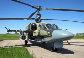 боевой, Аллигатор, вертушка, аэродром, вертолёт, КА- 52