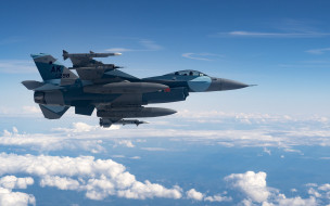 американский истребитель, f-16 fighting falcon, general dynamics, usaf, военные самолеты