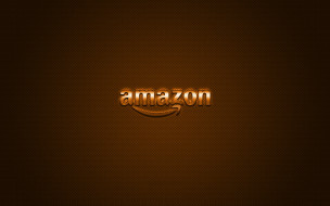 оранжевая текстура, углеродное волокно, обои для смартфонов, металлическая эмблема, логотип, amazon, электронная коммерция, оранжевый, блестящий, облачные сервисы, творческое искусство, бренды