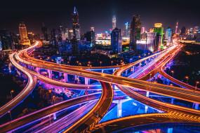 shanghai,  china, города, шанхай , китай, простор