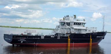проект 19910, александр рогоцкий, малое гидрографическое судно, россия, благовещенск, спуск на воду