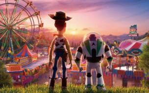buzz lightyear, woody, персонажи, история игрушек 4
