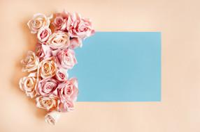 искусственные, розы