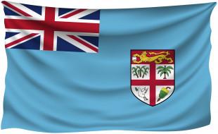 разное, флаги,  гербы, фиджи
