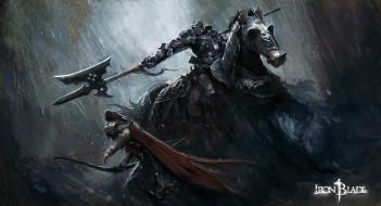 конь, мужчины, рыцарь, оружие, латы