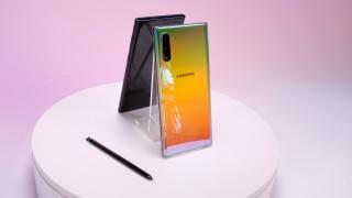 смартфон, ультразвуковое распознавание отпечатка пальца, samsung galaxy note 10